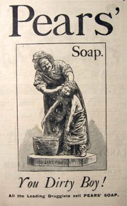 The Victorians put cleanliness next to godliness in their effors to prevent disease